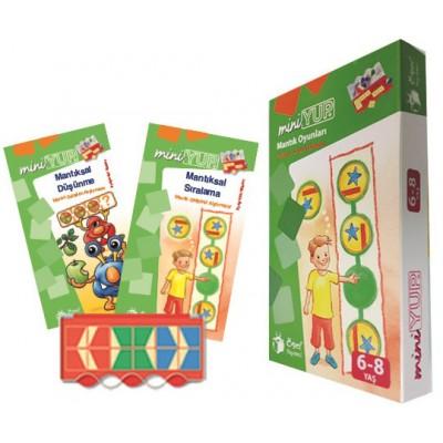 MiniYup Mantık Oyunları 6-8 Yaş
